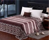 2014 new air conditioning blanket flannel blanket leisure blanket coral carpet nap blanket 200*230