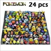 Wholesale Lots 24 pcs Pokemon mini random Pearl Figures New