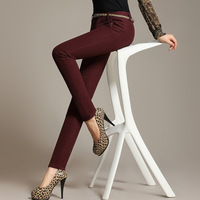 A . s2013 autumn and winter plus velvet thickening pants fashion trend of the women's legging trousers