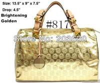 New 2014 PU Handbag fashion women handbag Clutch Bag Wholesale Ladies'  Totes bag Europe fashion bags 12colors free shipping
