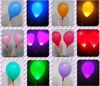 Flash balloon colorful led lighting 2 luminous balloon night market toy