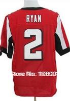 Hot Sale #2 Matt Ryan Jersey,Cheap American Football Jersey Elite Authentic Jersey Stitched Logo Embroidery Sport Jersey