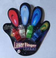 Toy led finger lights led laser light projection lamp neon stick