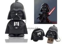 Cool Man Darth Vader Flash USB 4GB 8GB 16GB 32GB 64GB Memory Stick Pen Drive Disk USB flash drive,UF55