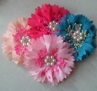 Sunshine baby headband Peony flower diamond/rhinestone Carnival Vintage for girl's hair accessories or children hair flower