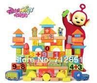 100pcs/lot High quality export Kids Blocks Toy Safe & Eco-Friendly