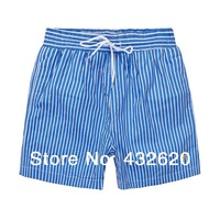 Board Shorts 2014 new striped beach pants men casual sport trunks  polo shorts