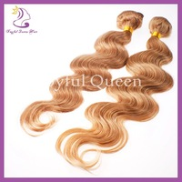 3pcs/lot color 27 virgin hair malaysian body wave honey blonde human hair weave for sale 5a no tangle no shedding free shipping