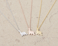 2014 New Fashion Jewelry Luxury Exquisite Unique Charming Style dinosaur Pendant Necklaces Jewelry with wholesale 10 pce/lot