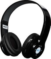 AEC Wireless Stereo Headset Bluetooth Headphones Cell Phone Black