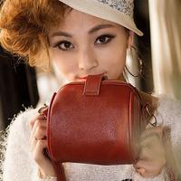 Korean Style Vintage Rivets Shoulder Bags Fashion PU Camera Messenger Bags BW0672