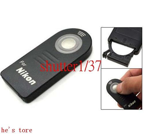 1pcs ML-L3 wireless Remote Control For Nikon D7000 D5100 D5200 D90 D60 D70 D40(China (Mainland))