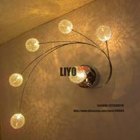 bedroom decor lamp,bedroom pendant light aluminum ball free shipping