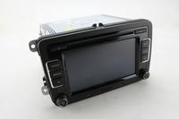 Black Botton RCD510 Car Radio CD Player With USB+Reverse image w/o DAB/RDS Fit For Golf Tiguan Jetta EOS