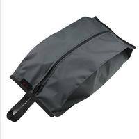 Random Color L0242 Free Shipping Outdoor Travel Tote Dust Bag Waterproof Nylon Shoe Storage Case Organizer Zipper