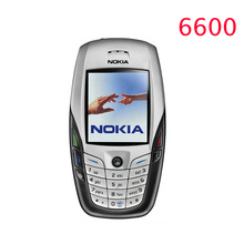 Original NOKIA 6600 Mobile Phone Bluetooth Camera Unlocked GSM Triband White one year warranty
