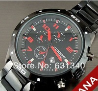 Ryan 2014 curren authenticity card with watches steel belt fashion sports watches
