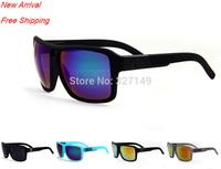 No box,16 colors,Retro fashion reflective men sunglasses brand designer,outdoor sports leisure windproof Dragon glasses