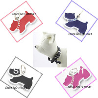 HOT Sale Free Shipping Zinc Alloy Mix Colors 20*14MM Pet Prodcut Dog shape Pet ID Tags Dog Tags Pet tag DIY Hang Charms Pendant