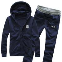 100% cotton  cardigan  Korean casual  men set sport suits Guardian  Fall 2014 Hot Spring