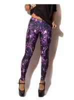 Free shipping Galaxy black leggings legging milk women's hot-selling