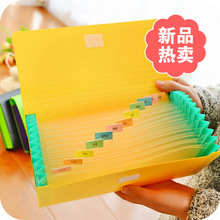Multifunctional document bag hand bills Pouch J
