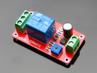 Time delay relay module electrical time delay switch robot intelligent  accessories 5v 12v