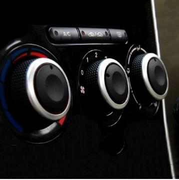 quente! ford focus 2 foco 3 mondeo ac botão carro 3pcs/lot controle de cal