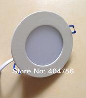 3W Round LED Panel Light  AC85-265V 540lm 50000Hrs 2835SMD