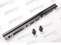 For SAAB 900, 9000, 9-3, 9-5 High Flow CNC Billet Aluminum Alloy Fuel Rail BLACK