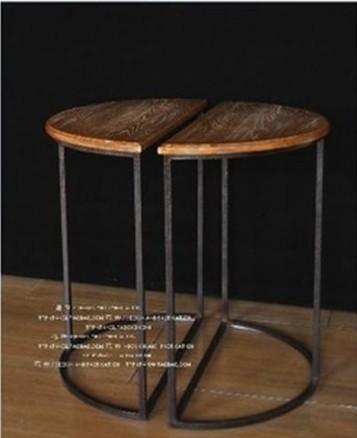Cadeira da barra de metal do Vintage conjuntos de bar 100% de madeira de chá talbe tratamento anti ferrugem banquinho de madeira móveis de metal(China (Mainland))