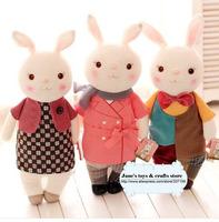 New style! Free shipping Metoo plush bunny toys, Tiramisu rabbit series with 8 styles ,smart birthday gift for children, 1 pc