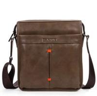 First layer of cowhide soft feeling quality genuine leather male shoulder men travel bags messenger bag casual bag man bag 8032