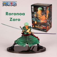 GARAGE One Piece Roronoa Zoro SCultures Championship Vol 5 PVC Figure POP New in box Cartoon Toy Kids Christmas Birthday Gift