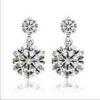 925 Sterling silver earrings TJ0054
