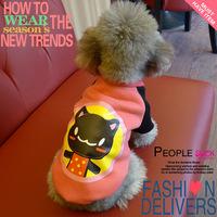 Cat thick fleece pullover sweatshirt pet clothes dog clothes