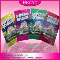 Hottest Glitter Kaptain Crunch Potpourri Ziplock Bag For Wholesale In Different Flavors