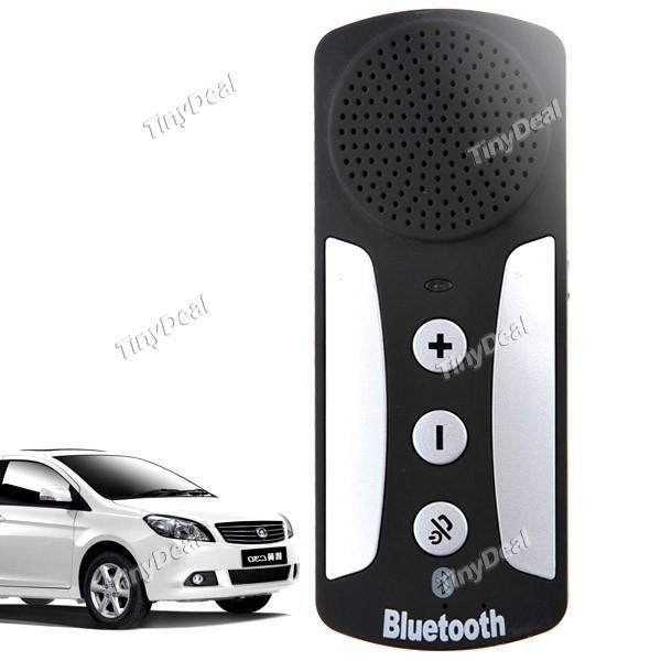 Wireless Car Bluetooth V3.0 Speakerphone Multipoint Speakerphone Hands Free Speakerphone Car Kit(China (Mainland))