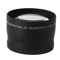58mm Telephoto Teleconverter Lens High Resolution for Cameras