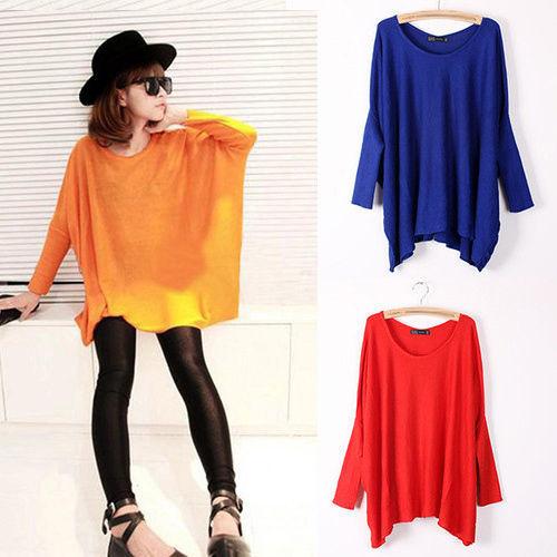 Женский пуловер , Batwing FF11255