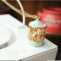 2014 New Style Hot Sale Fashion Carousel Women Necklace XLK129
