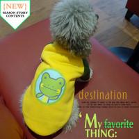 Thick fleece pullover sweatshirt pet clothes dog clothes
