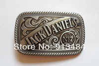Fashion pewter finish belt buckle JF-B1007 suitable for 4cm wideth belt with continous stock
