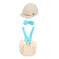 Baby Girls Boy Handmade Knit Crochet Newborn 0-24 Months Clothes Prop Outfits