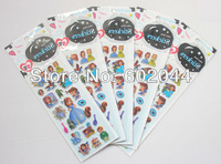 New Small Wholesale 20 sheets Sofia the first sticker  OF GIRL STICK Free shipping