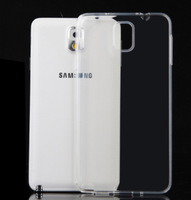 Ultrathin soft tpu case for Samsung Galaxy Note 3 back cover note3 housing