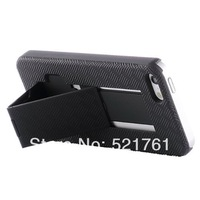 Shell Holster Combo Protective Case for iPhone 5C Mini Lite with Kick-Stand Belt Clip Holster