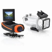 2014 New AT90 Full HD 1920 x 1080 5.0 MP CMOS 160 Degree Wide Angle 1.5 inch TFT Sport Camera Action helmet camcorder DVR