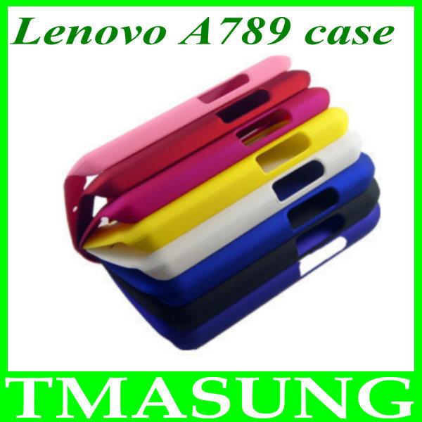 Free shipping Lenovo A789 phone russian plastic hard Cover Case 2pcs/lot(China (Mainland))