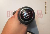 Black Gear Shift Knob Chrome dust cover Gear lever / shift lever  for Classic Volkswagen,Polaris,VW Golf